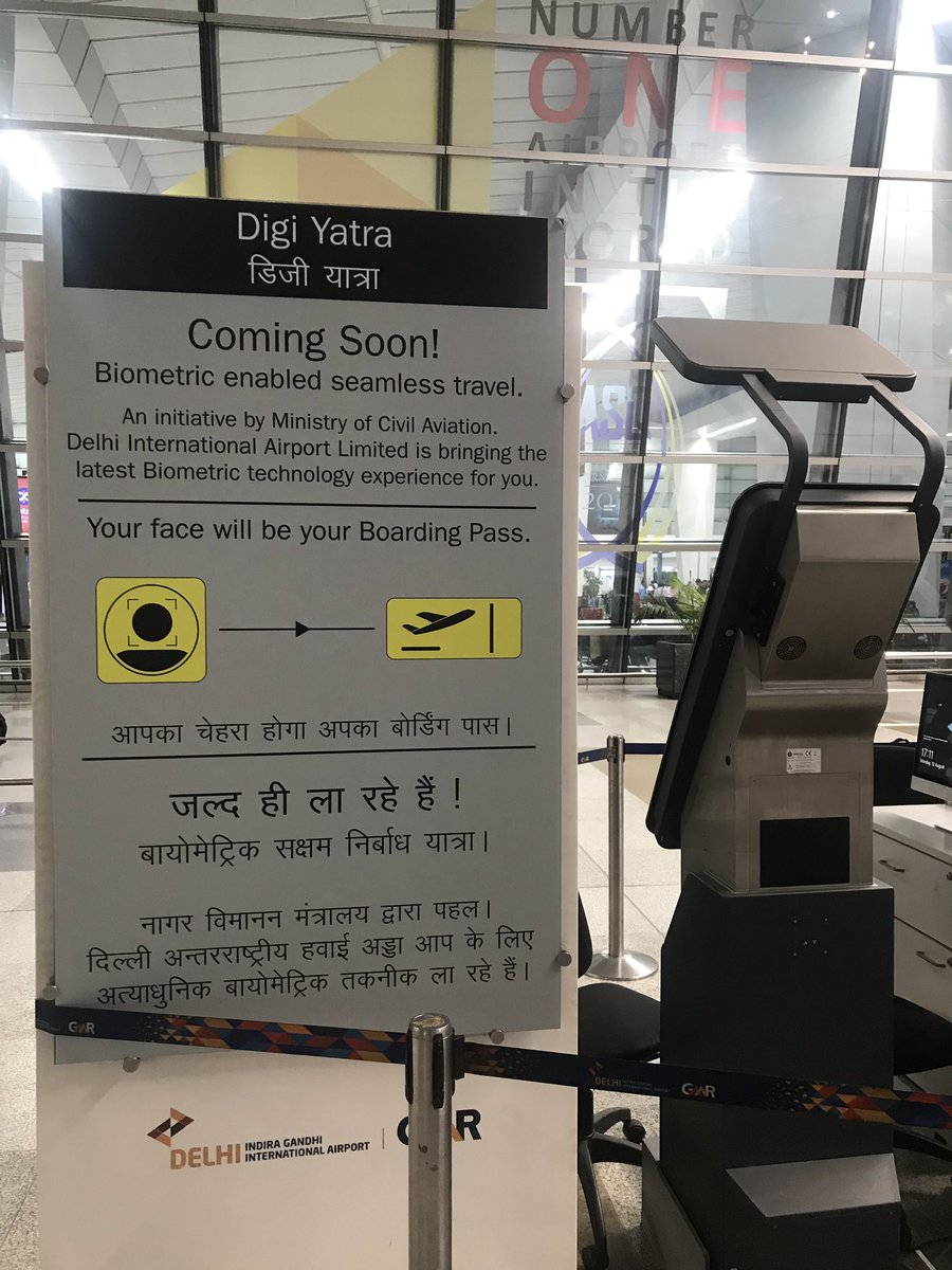 Delhi International Airport Ltd (DIAL) has started testing biometric facial recognition with Indian airline Vistara at Terminal 3 of the Indira Gandhi International Airport