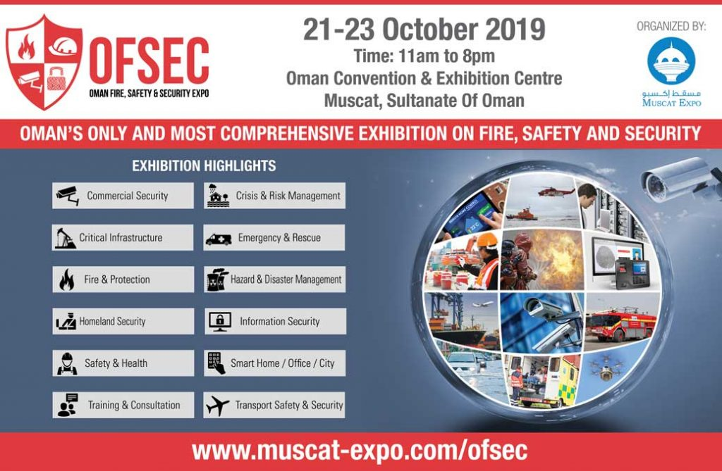 OFSEC – Oman Fire, Safety & Security Exhibition