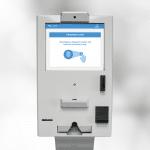 Automated Breathalyzer Kiosk with biometric fingerprint identity verification
