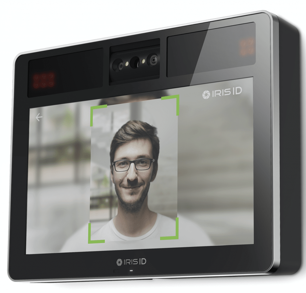 New Iris ID time and attendance device features dual biometric iris and face recognition