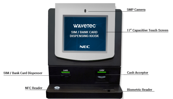 NEC XON introduces biometric KYC solution for fast SIM, bank card circulation