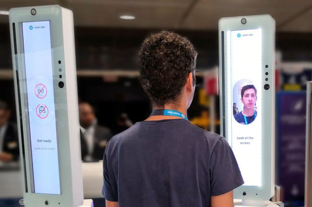 Vision-Box biometric boarding facial recognition JFK Terminal One