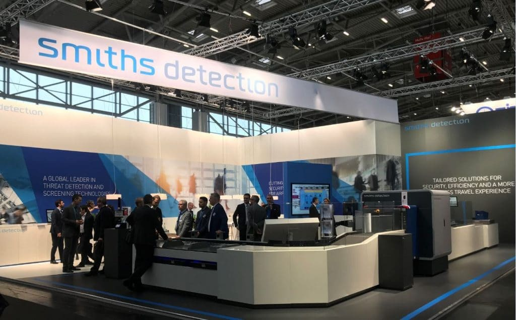 Smiths Detection demos biometric checkpoint solution at inter airport Europe 2019