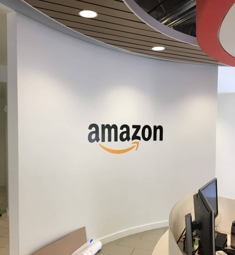 Amazon considers palm biometrics for touchless in-store payments, tests terminal transactions with Visa