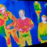 thermal and visible imaging sensor