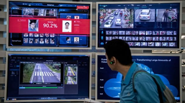 Chinese facial recognition and smart city technology deployed internationally