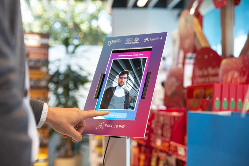Facial recognition systems for retail payment launched in Spain, trialed in Australia, company acquired