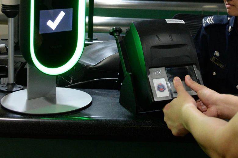 singapore biometric border security
