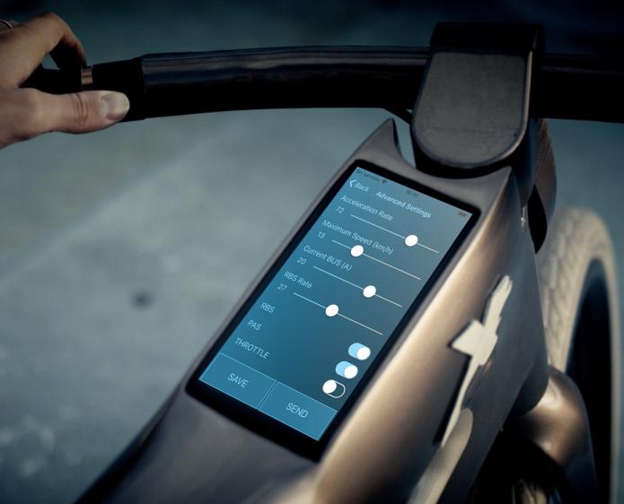xone facial recognition equipped ebike