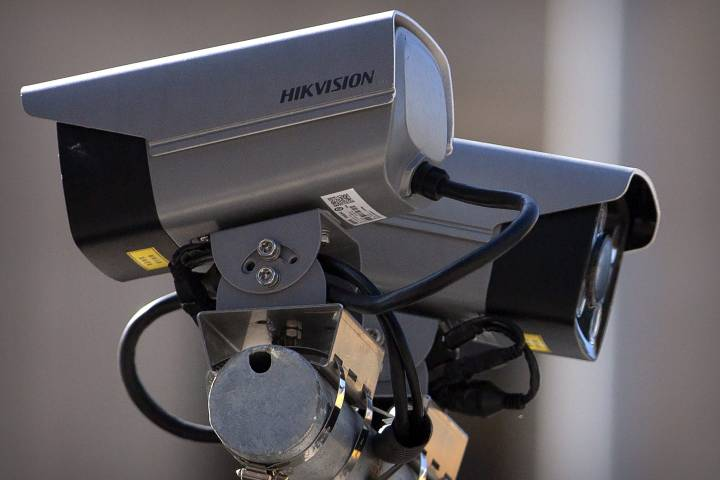 Hikvision biometric facial recognition cameras