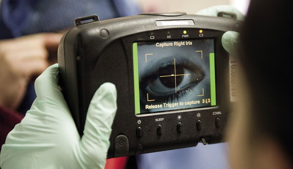 Iris recognition edges fingerprint, face and palm biometrics for most willing use by UK consumers