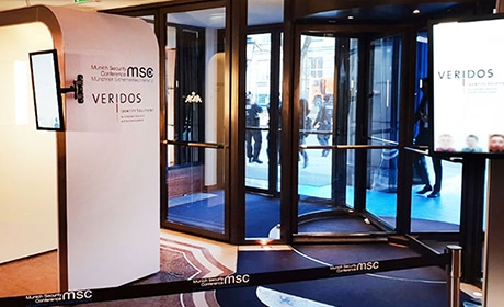 VeriGO eAccess by Veridos delivers biometric access control at Munich Security Conference