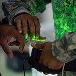 Army biometrics database for troops patrolling foreign checkpoints