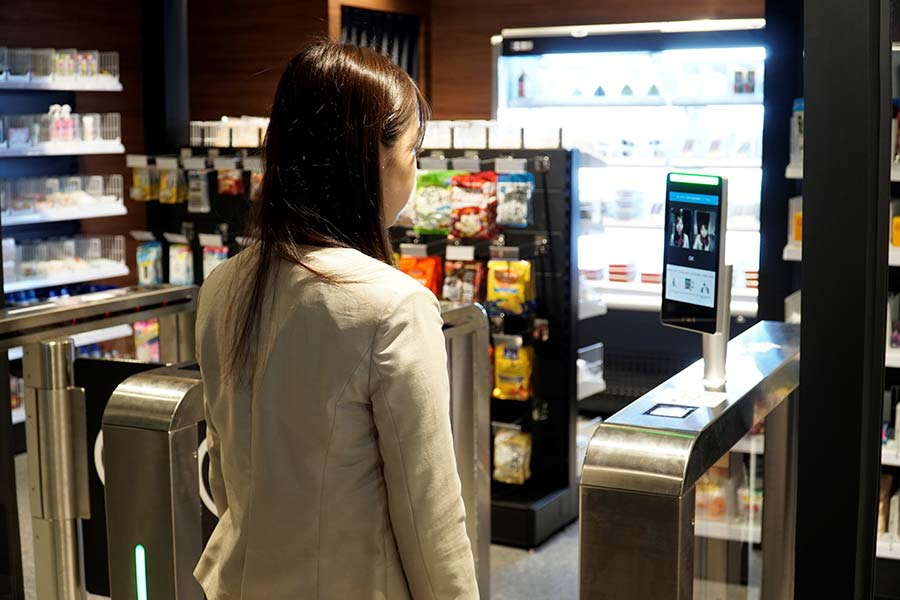 NTT Data rolls out biometric facial authentication shopping at register-less stores