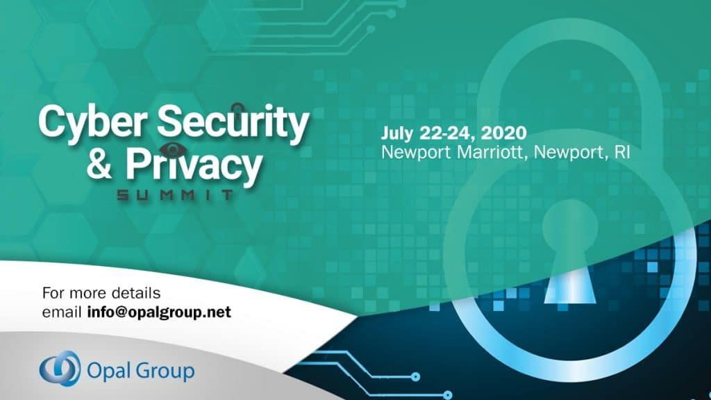 Cyber Security & Privacy Summit 2020
