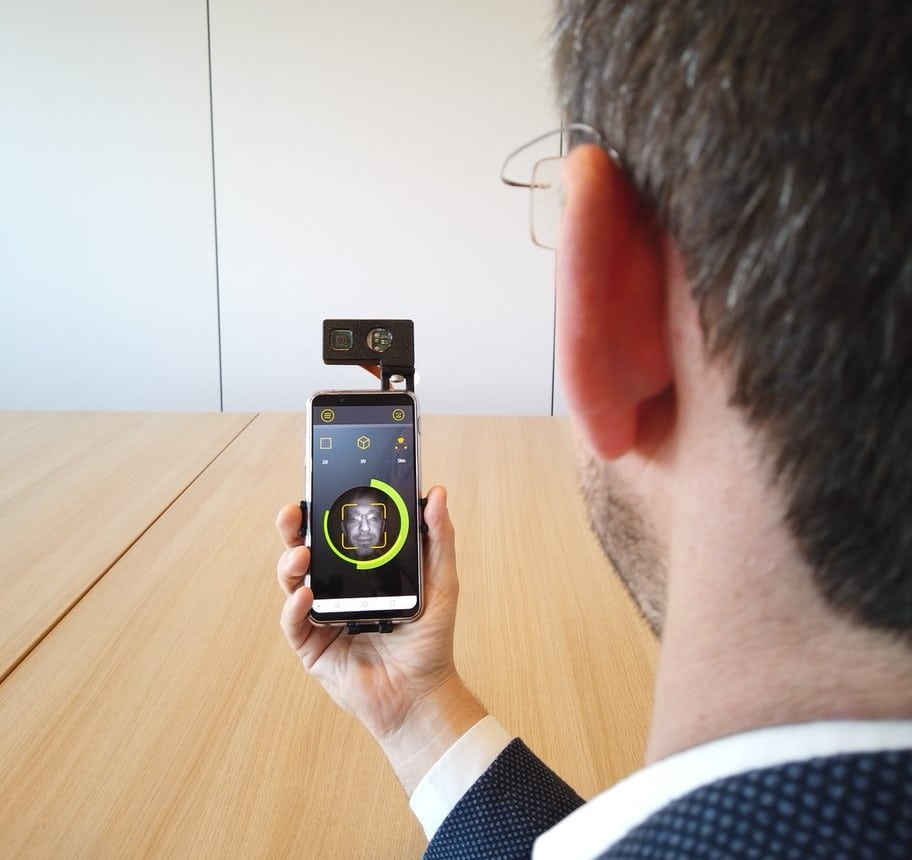 trinamiX's beam profile analysis boosts biometric facial recognition on mobile devices