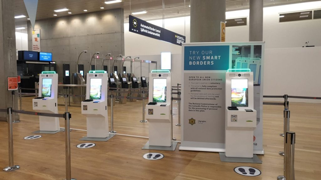 Trial of ITS biometric kiosks for new EU EES at Iceland airport successful, Clear launches at Lambert