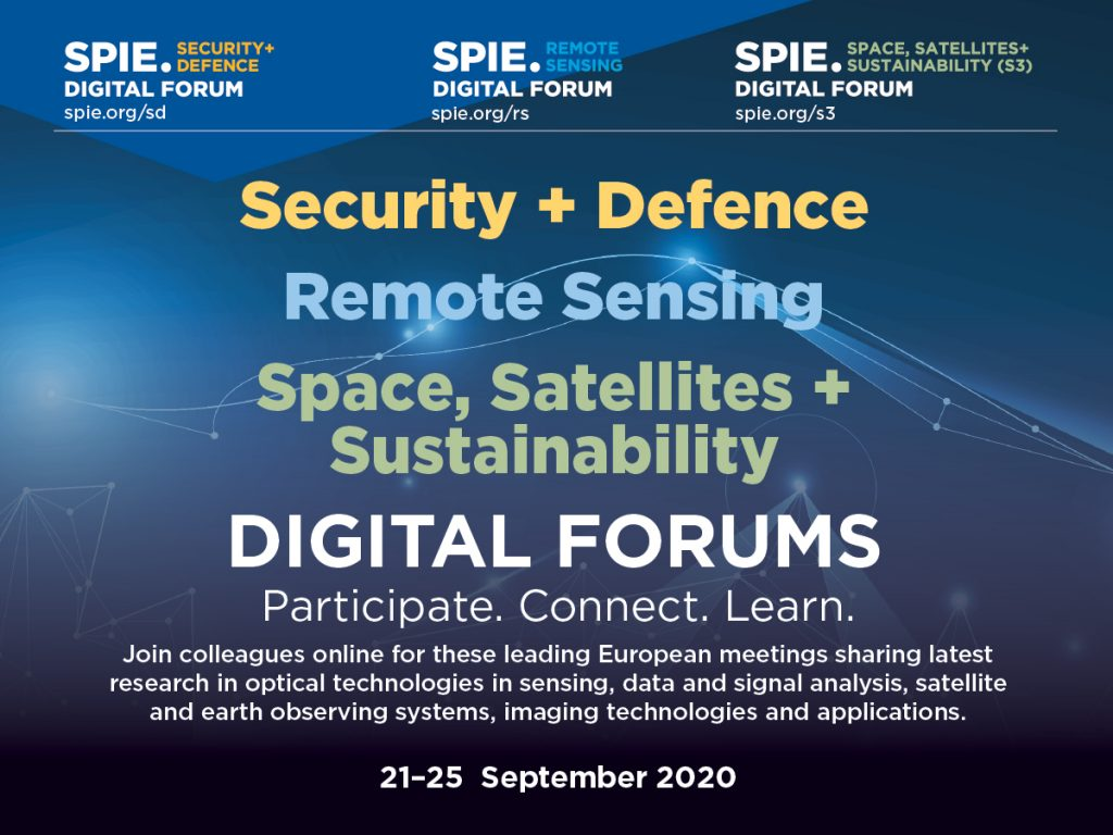 SPIE Remote Sensing Digital Forum