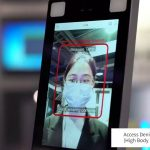 facial recognition fever and mask detection zkteco