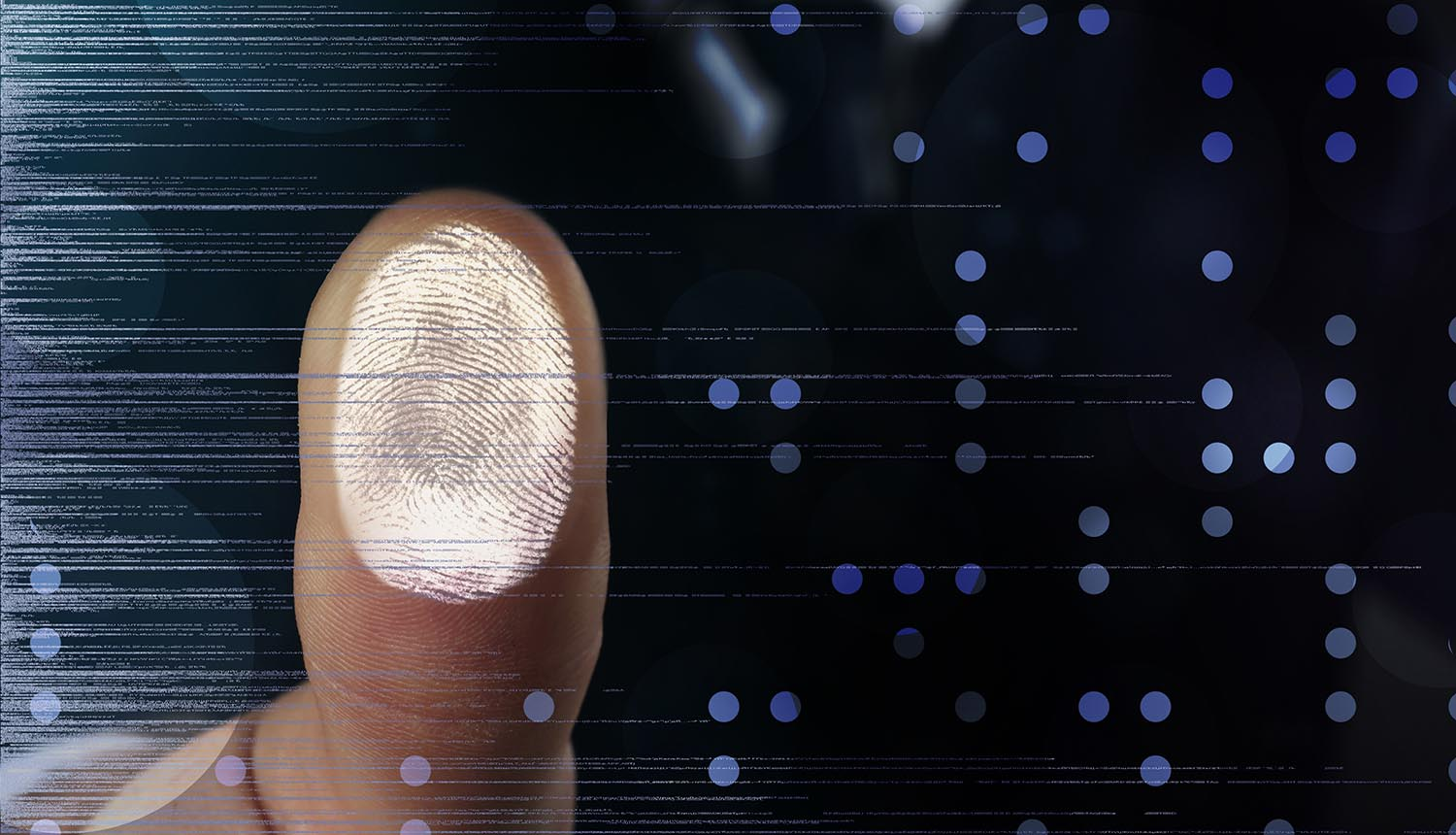 biometric fingerprint data