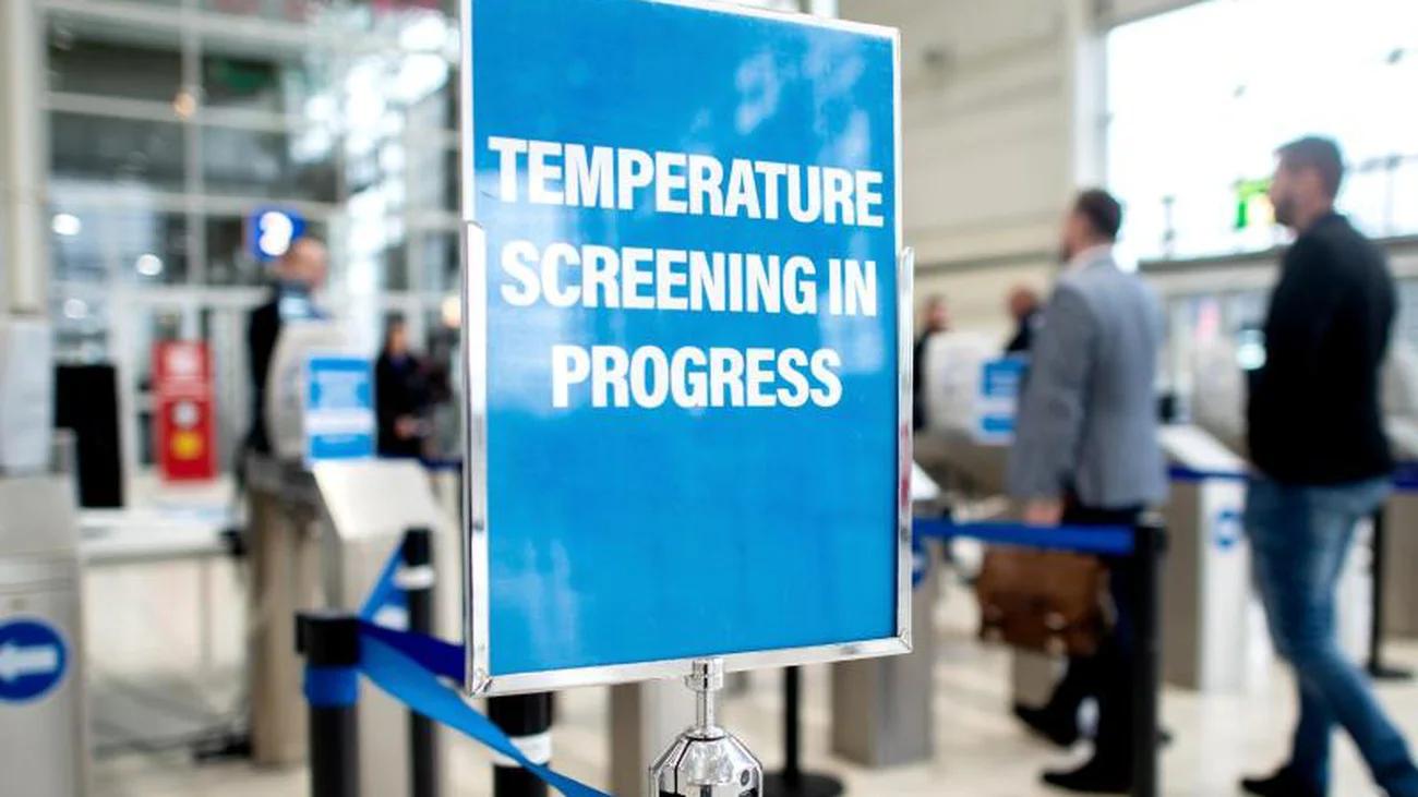 biometrics-based fever screening to increase public safety
