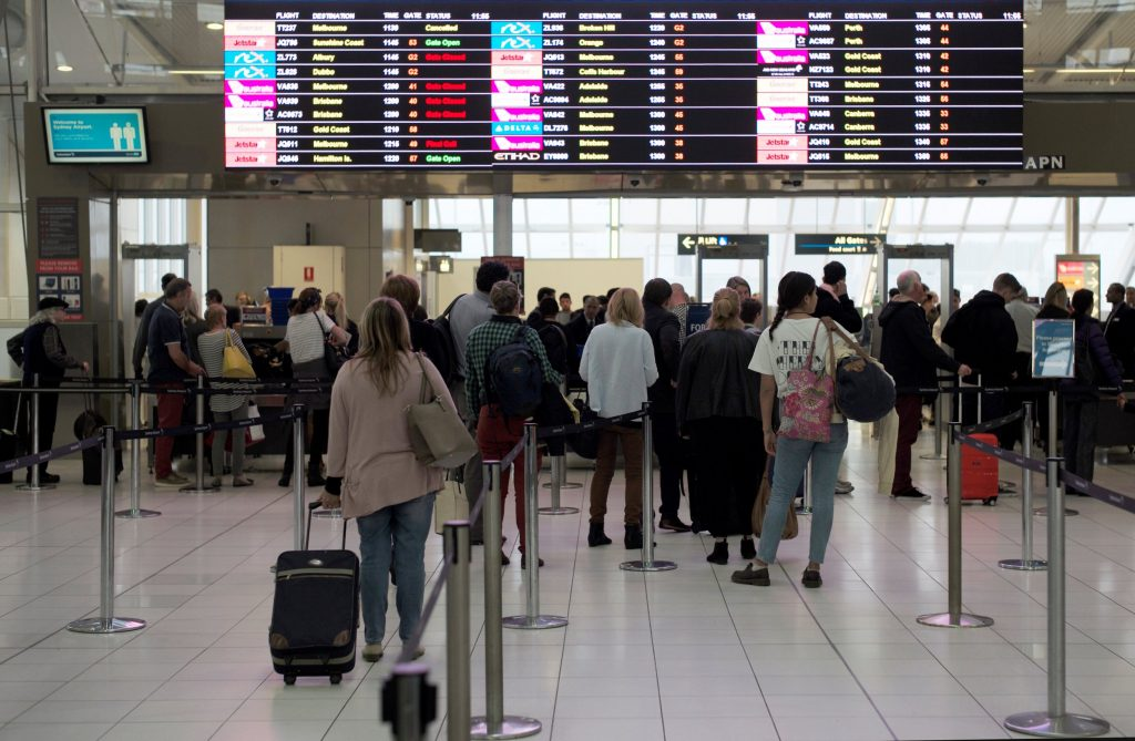 Airport security wants a good look at travelers … from a distance