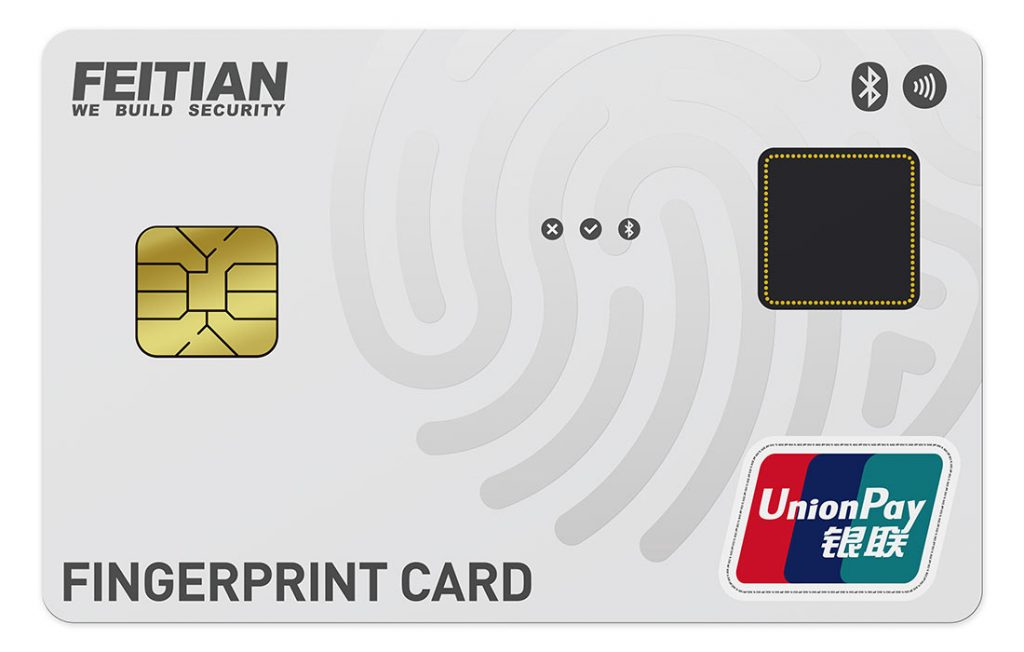 Idex Biometrics explains specs and importance of China UnionPay approval of Feitian biometric payment card