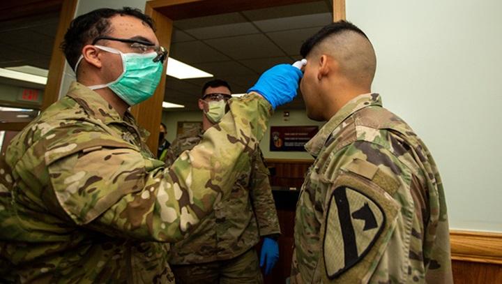 us army covid testing
