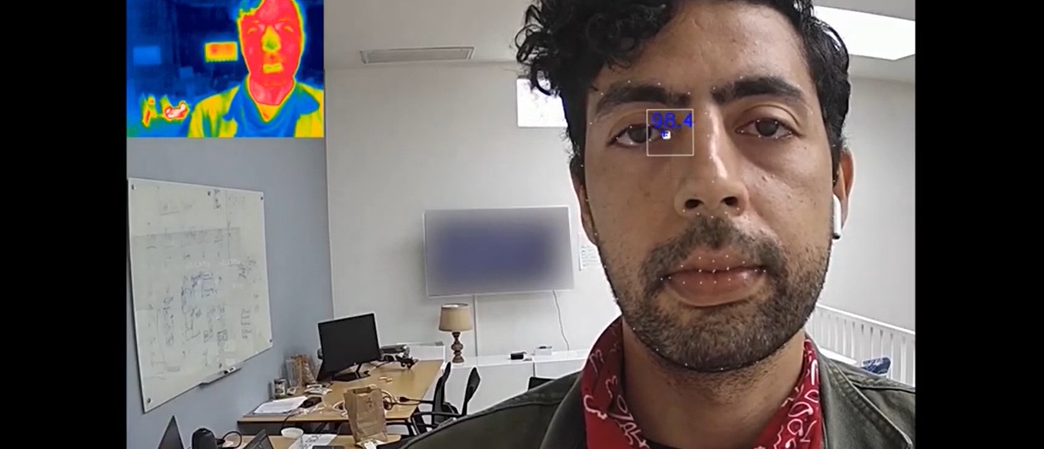 Trueface Face Recognition + Elevated Body Temperature Detection