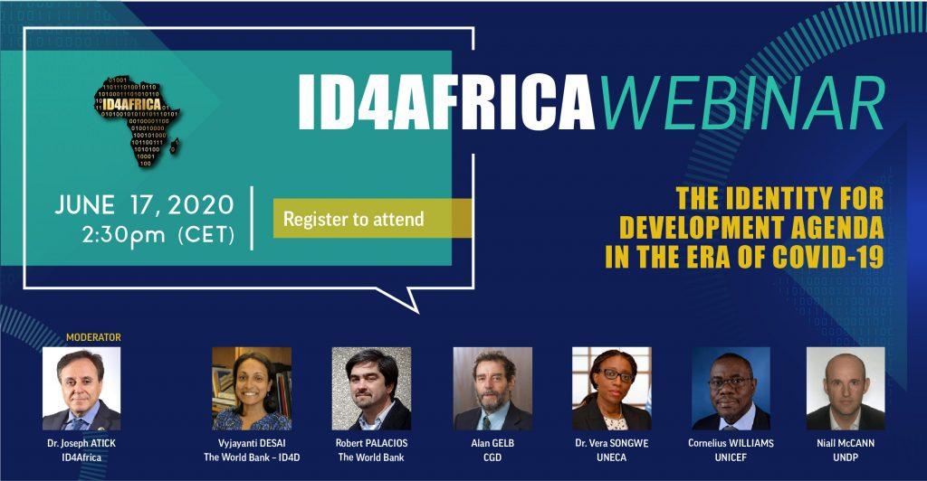 ID4Africa webinar – The Identity for Development Agenda in the Era of COVID-19