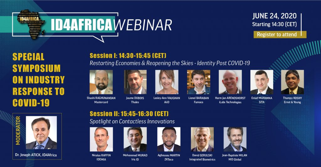 ID4Africa webinar – Special symposium on industry response to Covid-19