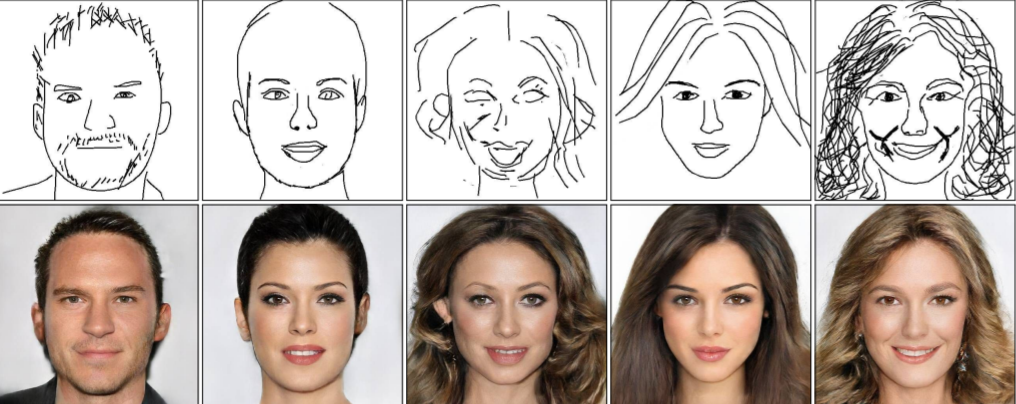 Minimalist's dream or nightmare? Researchers apply 'deepfake' to sketching