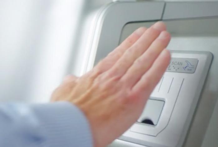 Hyosung ATMs with Fujitsu PalmSecure Technology