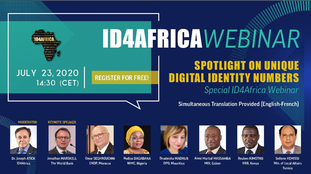 ID4Africa webinar – Spotlight on Unique Digital Identity Numbers