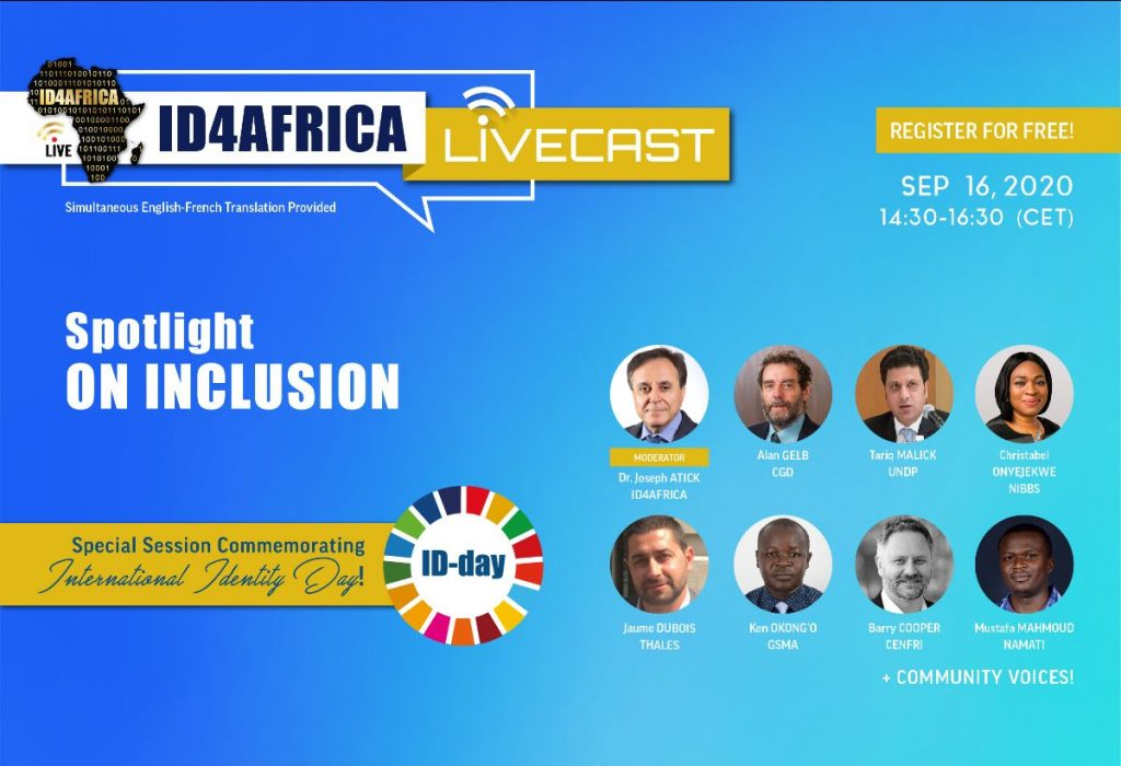 ID4Africa livecast – Spotlight on inclusion