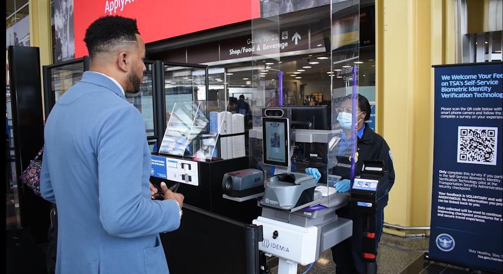 TSA tests Idemia's biometric self-service checkpoint at DCA