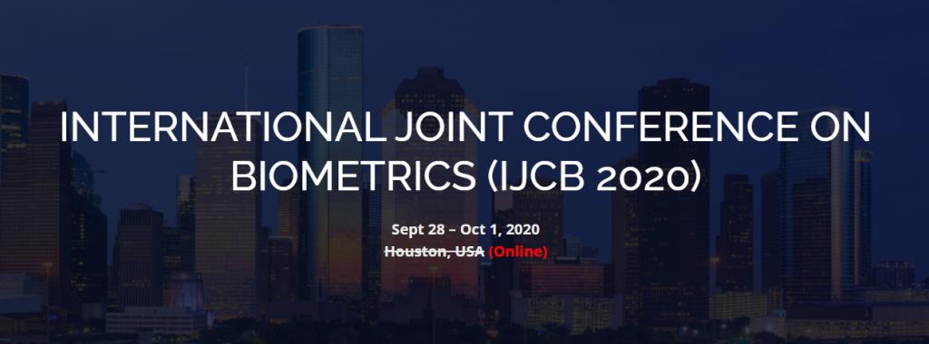 International Joint Conference on Biometrics (IJCB 2020)