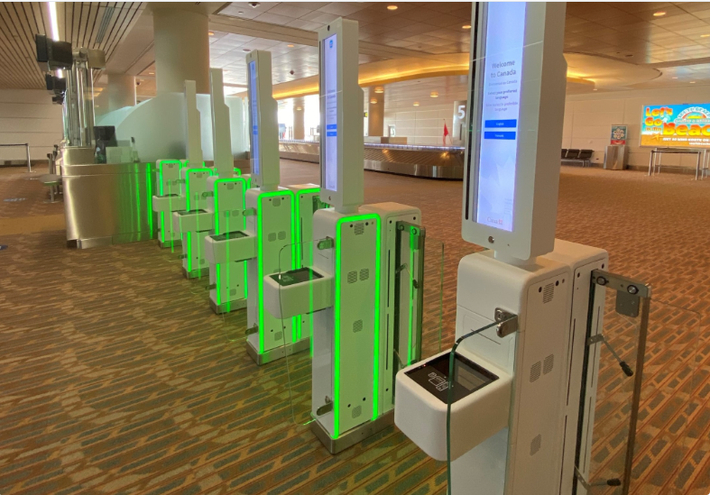 vision-box biometrics at winnipeg airport