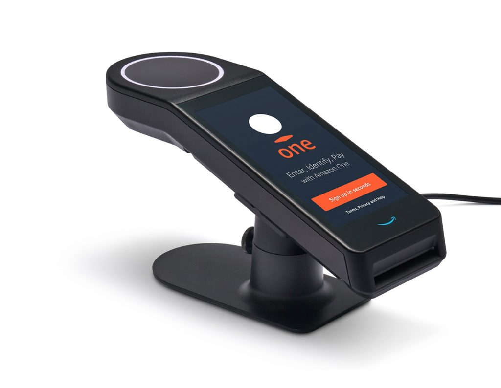 Amazon launches contactless palm biometrics for retail, access control markets