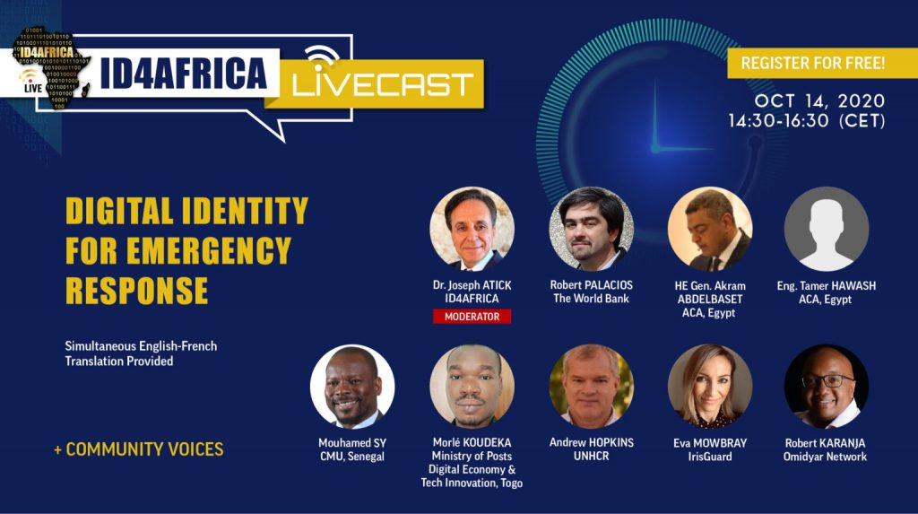 ID4Africa LiveCast – Digital Identity for Emergency Response