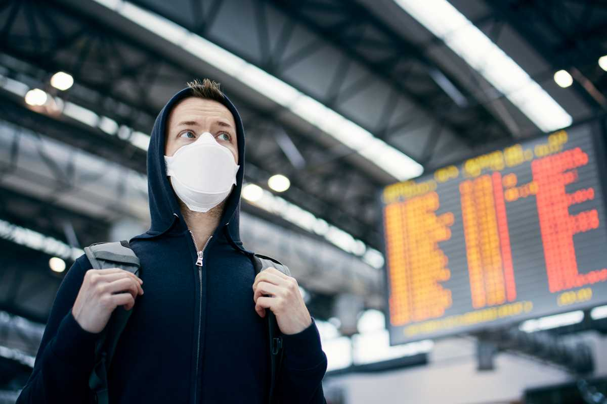 airport facial recognition masks