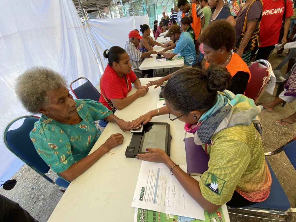 Papua New Guinea mobile biometric voter enrollment trial with Credence ID successful