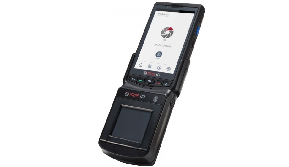 Iris ID's mobile multi-modal biometric device now compatible with TWIC credentials