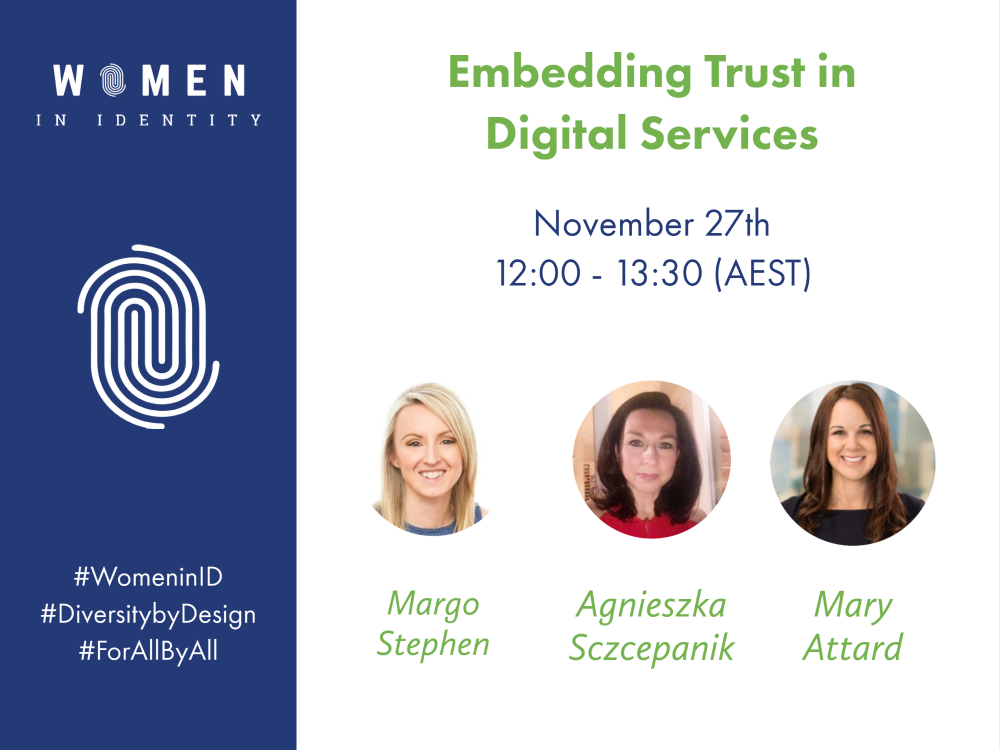 The Importance of Digital Trust – a Women in Identity Webinar