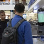 CBP NEC facial recognition biometric exit