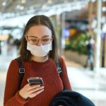biometrics phone mask airport