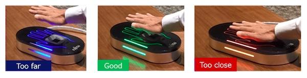 Fujitsu palm vein authentication sensor platform