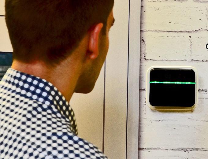 alcatraz biometric access control