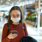 biometrics phone mask airport small