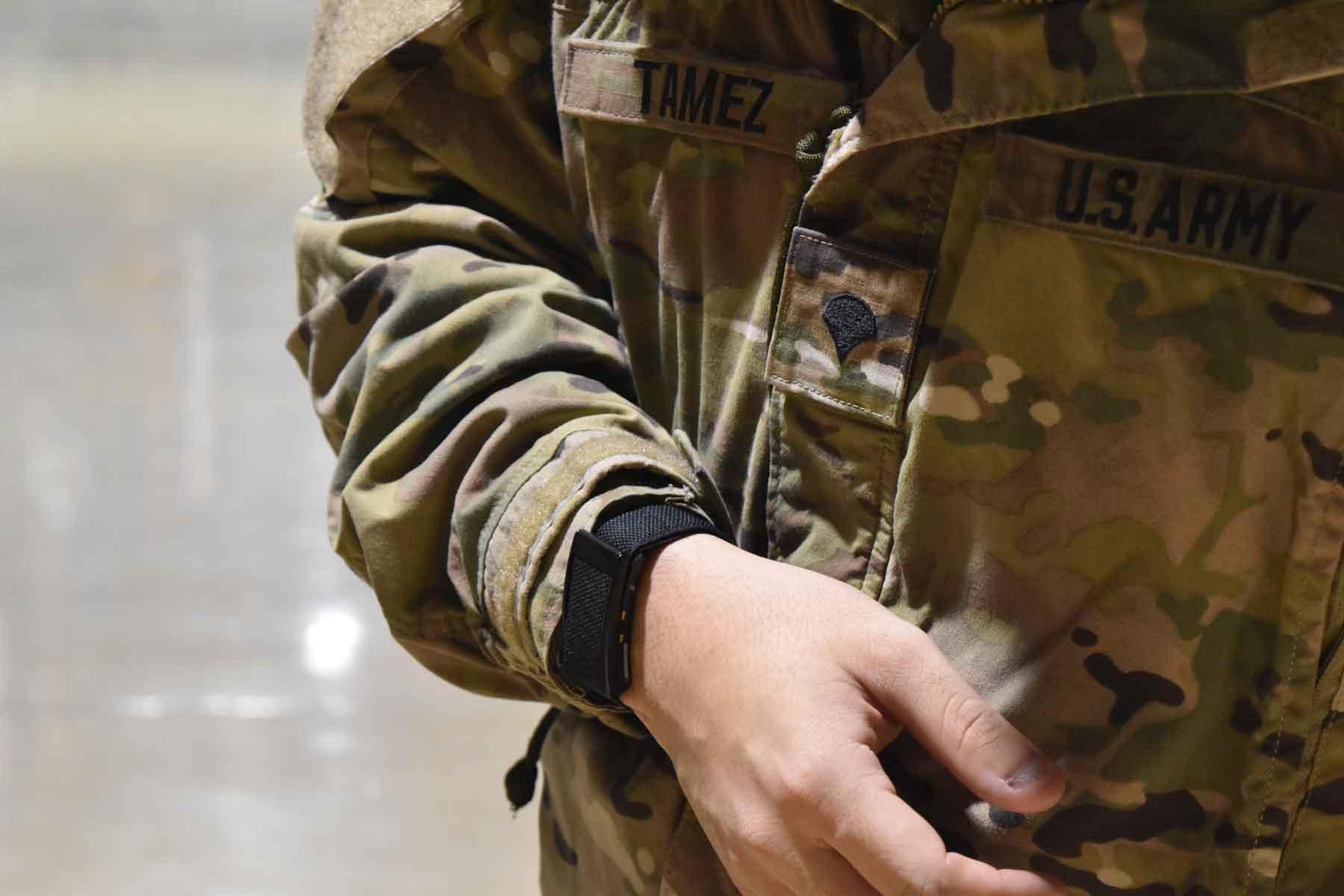 whoop biometric data military